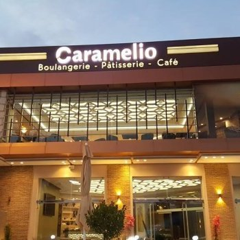 Enseigne Boulangerie Pâtisserie Caramelio